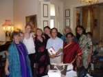 Wendy, Melina, Erin, Sharon, Kristie, Andrew, Susanne, Sujata and Meenakshi at the Sydney launch of Fear Factor Terror Incognito