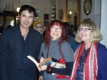 Abdul, Linda and Sharon at Hughenden Launch